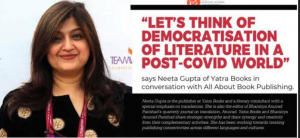 Lets Think of Democratisation of Literature in a post- coivid World